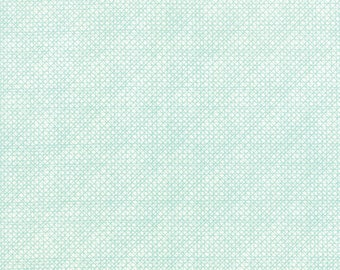 Moda SWEETNESS Quilt Fabric 1/2 Yard By Sandy Gervais - Snow/Sky 17853 32
