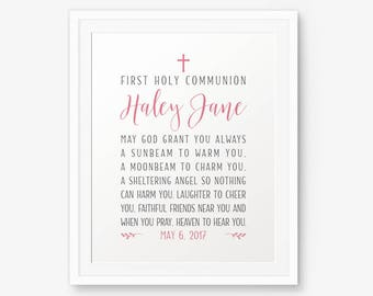 First Holy Communion sign, Boy Baptism sign, Girl Baptism sign, Communion Sign, Baptism Sign, Religious, Christening