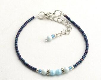 Friendship Bracelet with Swarowski Pearl