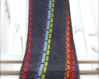 Impavido, shawl, stole, wrap knitting pattern PDF