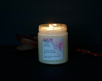 Summer Berry Soy Candle
