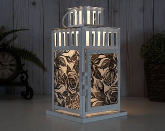 roses flower Flowers lamp lantern farmhouse Rustic Farmhouse Decor wedding centerpiece wedding decor nursery wedding floral