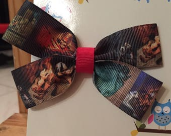 Disney Pirates of the Caribbean Hair Bow; Pirate Hair Bow