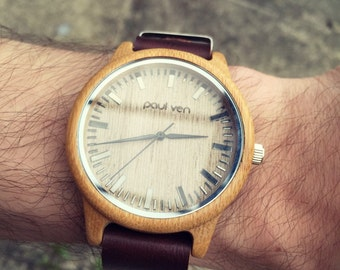 Wood Watch, Engraving, Wooden Watch, Gift for Him, Mens Wood Watch, Wooden Watches, Wedding Gift, Mens Watch, Wood Watch, Groomsmen Gift