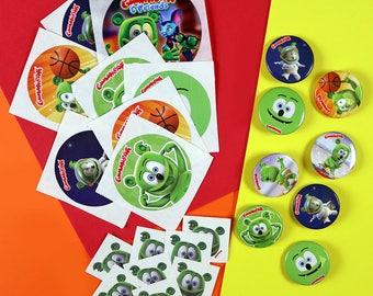 Gummibär (The Gummy Bear) Birthday Party Favor Sets ~ Set of 8~  Kawaii Character