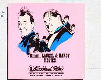 Vintage Super 8 Movie, Laurel & Hardy Dirty Work, Blackhawk Films, great condition in original box, vintage movie fun