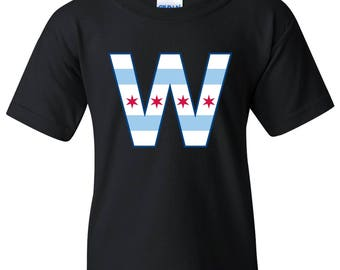 Chicago Flag W YOUTH T Shirt