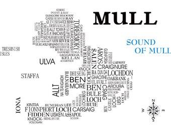 Mull Word Map
