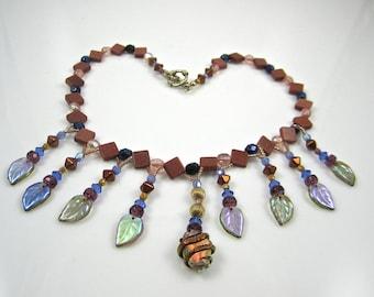 Goldstone Necklace