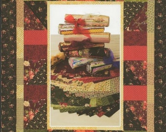 Suzanne McNeill Sweet 16s Darks Quilting Fabric Quilting Book Using 1/16 Yard Cuts