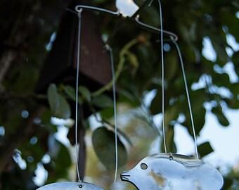 Tropical Fish Silverware Wind Chime - TFWC004