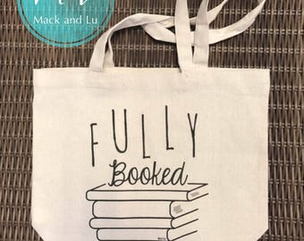 Fully Booked Recycled Cotton Tote