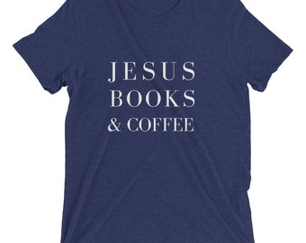 Jesus Books & Coffee Short sleeve t-shirt