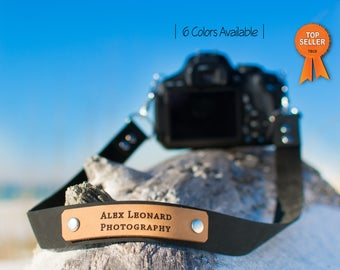 Custom Leather camera strap, vintage camera strap, canon camera strap, Nikon camera strap, anniversary gift, mens gift, personalized strap