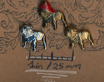Mack Truck Bulldog Fireman Advertising Corporate Pins Choose 1 or All 3 Vintage Lapel Pin Souvenir Hat Pin Jewelry Brooch Badge Button