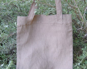 Linen Tote Bag | Market Bag | Beach Bag