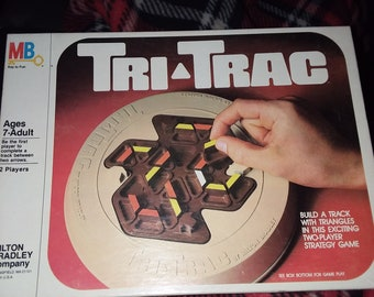 Tri-Trac Vintage Strategy Board Game (Includes Shipping)