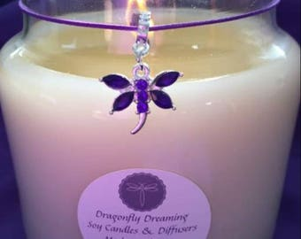 Dragonfly Dreaming Soy Candle - Small