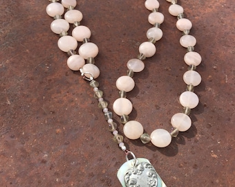 Aventurine lariat necklaces