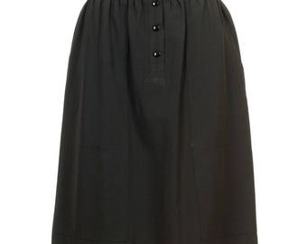 Escada - a timeless gray vintage skirt 90s from Germany for every occasion