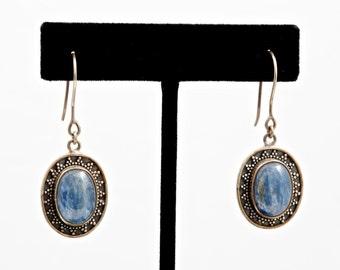 Kyanite 228 - Earrings - Sterling Silver & Kyanite