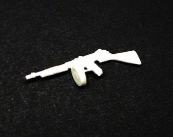 1:25 scale model resin Thompson Submachine gun gangster police Tommy Gun