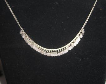 "16""Silver Tone Necklace"