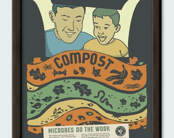 Compost - 11x14 poster print