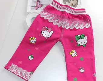 Hello Kitty baby girl Summer trousers Gr. 74 80 86