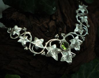 Silver necklace 'Ivy'