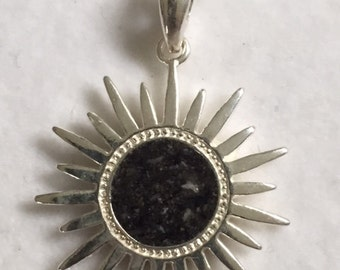 Cremation Ash Jewelry Sterling Silver Star pendant rememberance jewelry, Pet memorial cremation ash jewelry