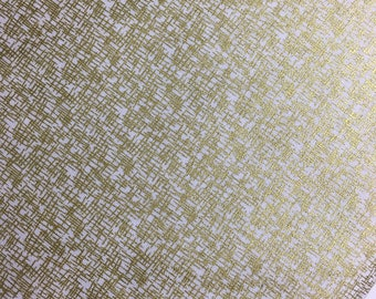 Mini Hashtag Gold Metallic from Riley Blake, Gold Metallic, Wedding Fabric, Hashtag, Cotton Fabric, Choose the Cut