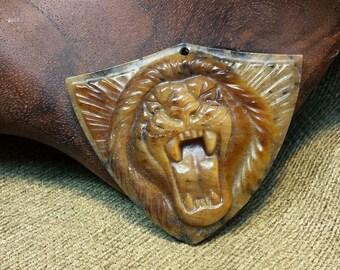 Sale #EarthDay ~ Fierce Leonine Shield
