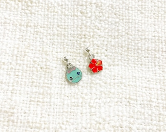Lilo and Stitch Sterling Silver Earrings