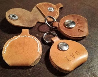 Dog tag dog tag ID tag collar dog collar original leather upcycling unique customizable