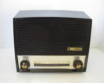 Vintage Motorola AM Radio Tube 64 X plastique en bakélite