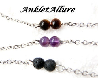 Ankle Bracelet Stone Anklet BEACH Anklets for Women  Guarantee