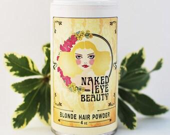 Organic Blonde Natural Hair Powder