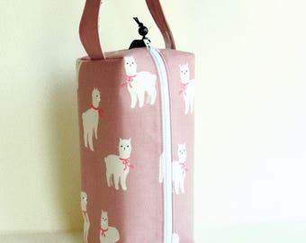 Boxy Bag Knitting Project Bag - Alpaca