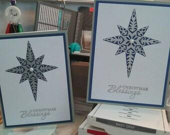 Silver Star Christmas Blessings