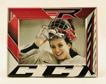 5 x 7 Hockey Stick Frame - FREE SHIPPING in US  (#6317)