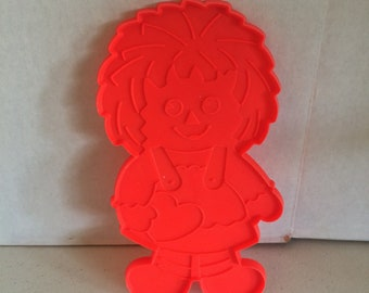 """Large 8 """" Rageddy Ann Cookie Cutter, Rageddy Ann and Andy Kitchen utensils, Cookie Cutters , plastic cookie cutters"""