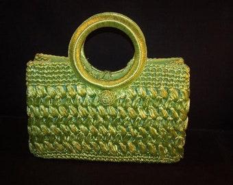 Vintage Island Green Handbag