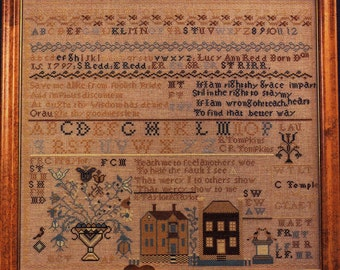 Lucy Redd Reproduction Sampler