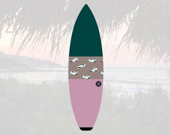 Oh Snap   Surfboard Sock   Horizon Dawn