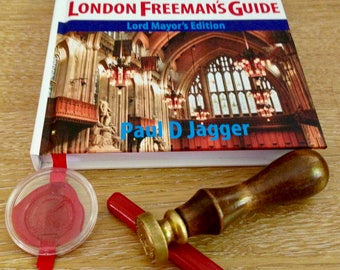 Sealed copy of The City of London Freeman's Guide