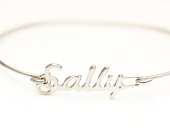 Vintage Name Bracelet - Sally