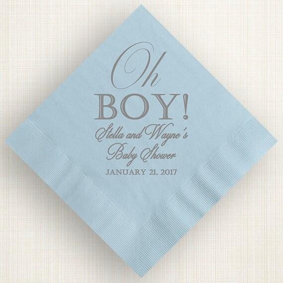 custom napkins baby shower napkins cocktail napkins wedding