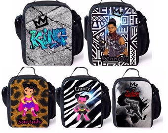 Kids Melanin Lunch Bags
