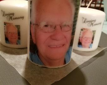 Keepsake Memorial Candle